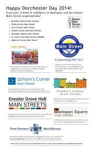Dorchester Day 2014 Ad