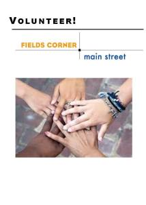 FCMS Volunteer Brochure 2014