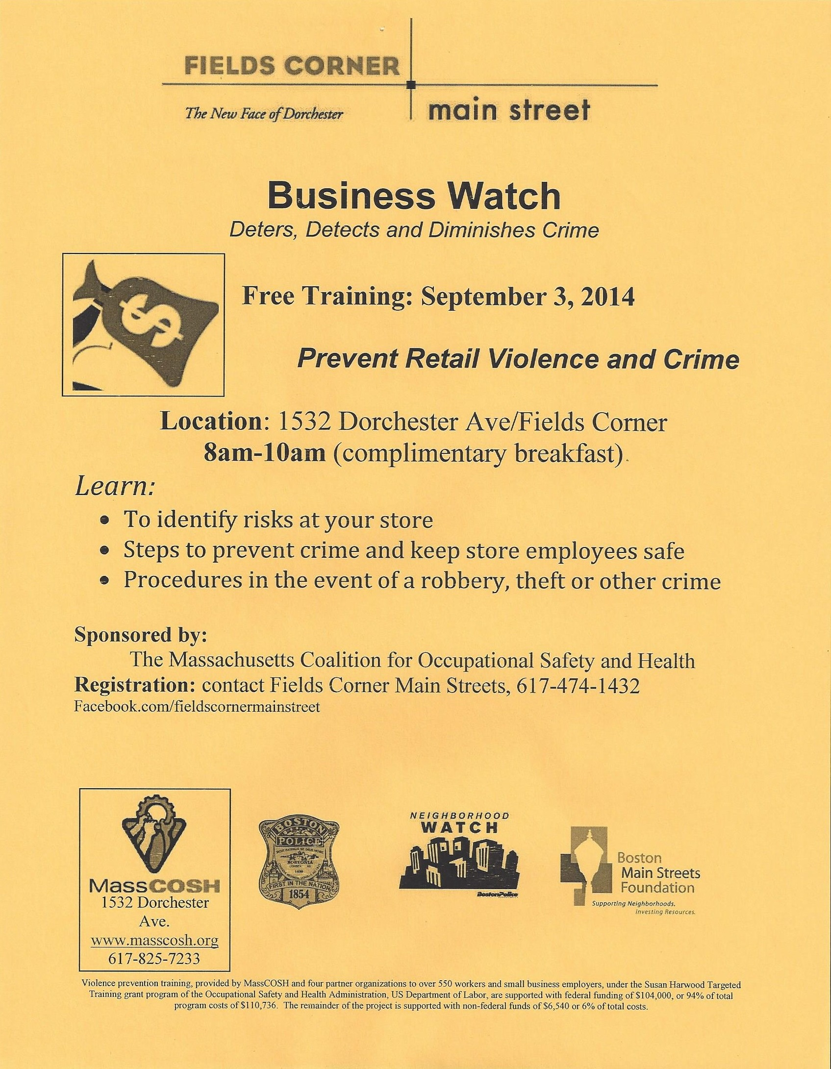 Biz Watch Flyer Sept 2014